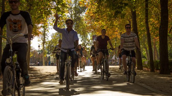 Bike tour Madrid Retiro