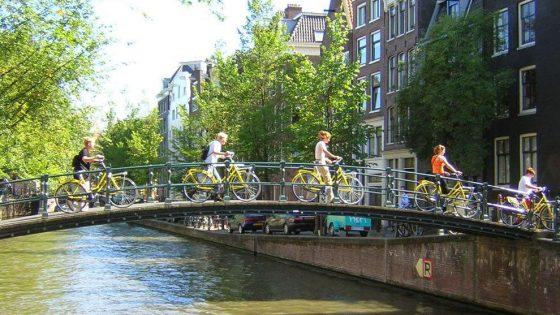 Amsterdam bike tour