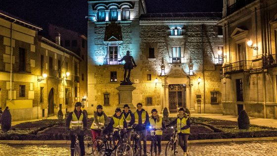 Madrid evening bike tour