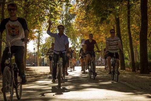 Bike tour Madrid Retiro