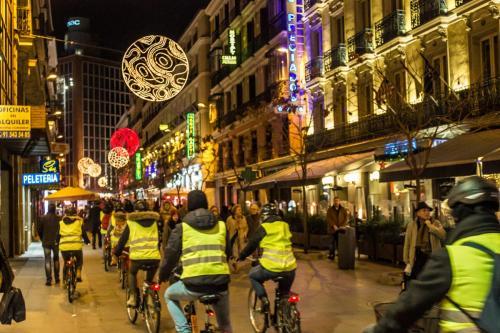 City bike tour Madrid