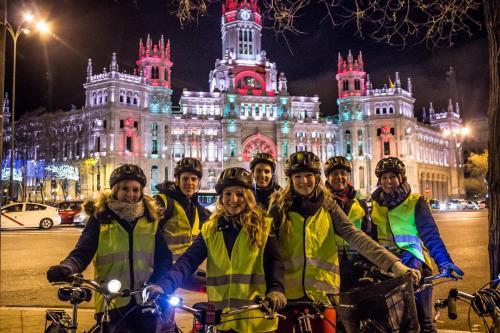 Bike Tour Madrid Christmass
