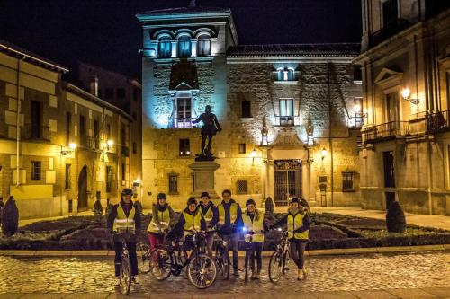 Madrid evening bike tour