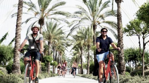 bike tour turia park valencia